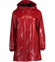 cramond logo parka raincoat