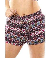 shorts curto feminino duna casual