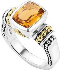 women's lagos 'caviar color' small semiprecious stone ring
