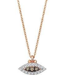 10th eye haven diamond necklace