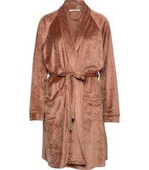 sophie robe morgonrock brun underprotection