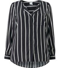 blus jrveronica ls stripe shirt