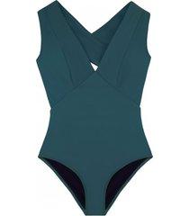 strój kąpielowy dinah sea green