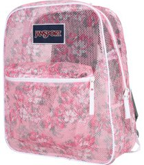 mochila jansport mesh pack - 32 litros - rosa