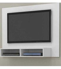 painel para tv até 45 polegadas ipanema branco acetinado - móveis germai