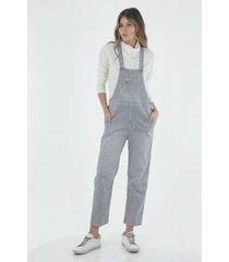overall para mujer topmark, fondo preteñido