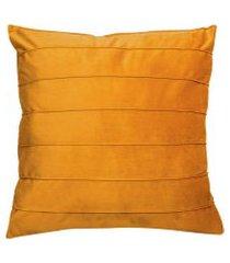almofada lisa drave (50x50) amarelo