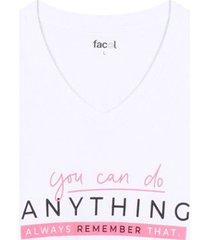 camiseta m/c anything color blanco, talla l