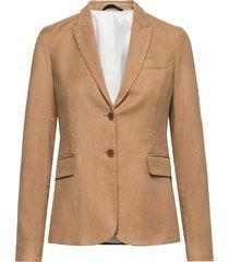 d2. moleskin slim blazer blazer colbert bruin gant