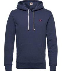 new original hoodie blue indig hoodie trui blauw levi´s men