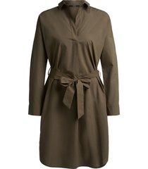 set blouse jurk groen