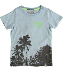 retour lichtblauw t-shirt