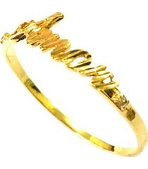 anel prata mil amor de ouro ouro