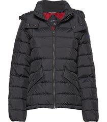 d2. classic down jacket gevoerd jack zwart gant