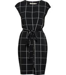 katiyaiw saffron dress jurk knielengte zwart inwear