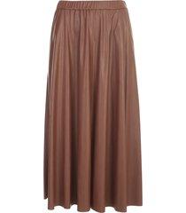 pierantoniogaspari pleated skirt w/slit
