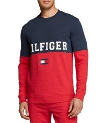 th modern essentials men's colorblocked pajama shirt