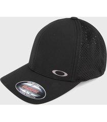 gorra negro oakley aero perf trucker