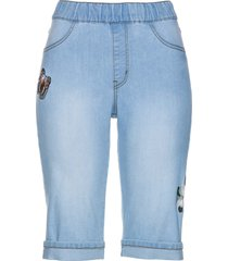 bermuda in jeans con ricami (blu) - bpc selection