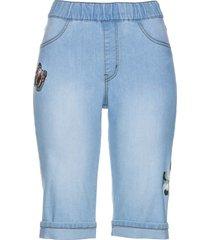 bermuda in jeans con ricami (blu) - bpc selection