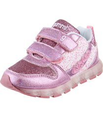 zapatilla rosa gummi glitter