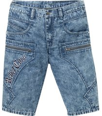 jeansbermudas, normal passform