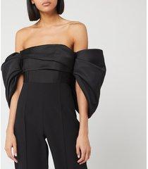 solace london women's kasey jumpsuit - black - us 4/uk 8