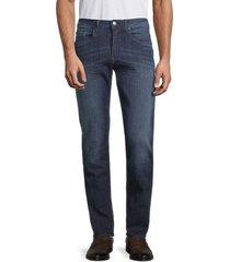buffalo david bitton men's evan-x slim-fit jeans - indigo - size 42 32