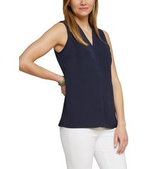 women's nic+zoe day to night top, size xx-large - blue