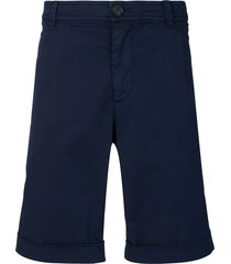 brunello cucinelli flap pocket shorts - blue