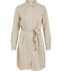 klänning vibista denim belt dress