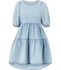 jeansklänning babydoll denim dress