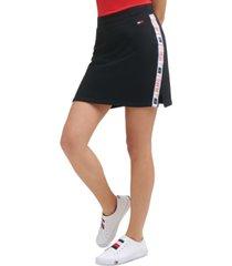 tommy hilfiger sport logo mini skirt