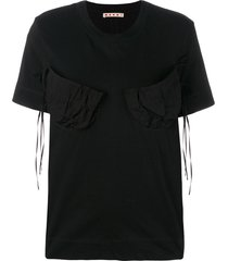 marni ribbon t-shirt - black