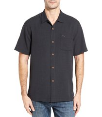 men's tommy bahama royal bermuda silk blend camp shirt