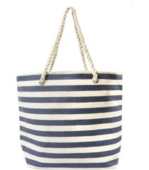 area stars women's stripe tote bag