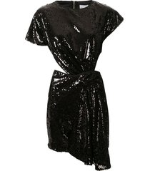 alice mccall electric orchid knot dress - black
