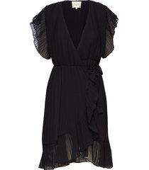 mounce wrap dress korte jurk zwart second female