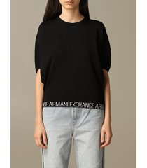 armani exchange sweater armani exchange top with logo