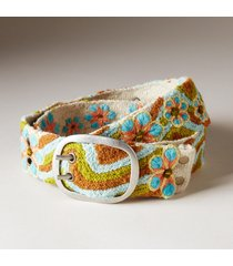 women's sea lily wool belt