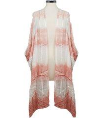 marcus adler tie dye kimono