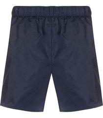 acne studios drawstring swim shorts - blue