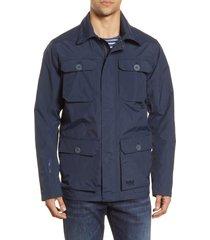 men's helly hansen kobe waterproof helly tech field jacket, size x-large - blue