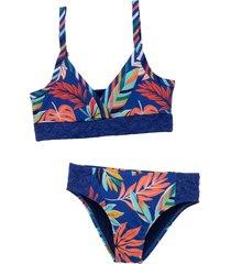 bikini azul  offcorss