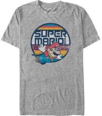 nintendo men's super mario flying mario short sleeve t-shirt