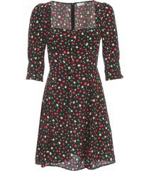 rixo dress s/s short wide neck fantasy
