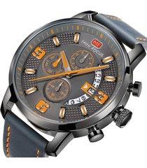 reloj mini focus mf0025g-1 hombre gris