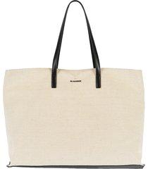 linen canvas large shopper