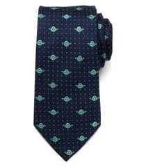 men's cufflinks, inc. 'yoda' silk tie, size regular - blue