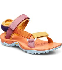 kahuna web apricot orange shoes summer shoes flat sandals multi/mönstrad merrell